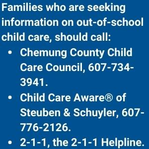 Phone numbers to call for information